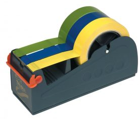 PD351 Multi Roll Bench Tape Dispenser for Three 25mm or One 75mm Adhesive Tapes 163719598358 275x235 - PD351 Multi Roll Bench Tape Dispenser for Three 25mm or One 75mm Adhesive Tapes
