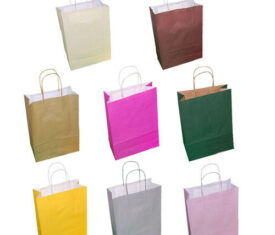 Paper Easter Party Gift Bags 180mm x 80mm x 220mm Range of Colours