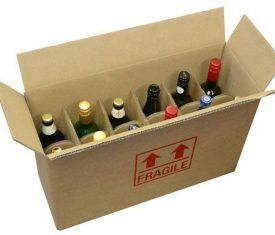 Strong DW Cardboard 12 Bottle Wine Storage Postal Boxes 540 x 190 x 350mm Qty 5 142795602838 275x235 - Strong DW Cardboard 12 Bottle Wine Storage Postal Boxes 540 x 190 x 350mm Qty 5