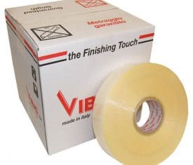 Vibac Hot Melt Clear Machine Poly Parcel Packing Packaging Tape 990m 48mm Qty 6