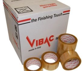 Vibac Solvent Clear No Noise Poly Parcel Packing Packaging Tape 66m 48mm Qty 36 163015605258 275x235 - Vibac Solvent Clear No Noise Poly Parcel Packing Packaging Tape 66m 48mm Qty 36