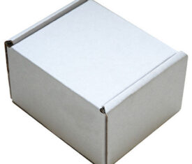 110mm x 100mm x 70mm White Small Parcel Die Cut Postal Mailing Shipping Boxes