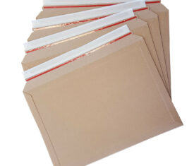 234mm x 334mm 400gsm A4 Card Solid Board Envelopes Strong Rigid Expanding