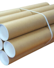 300mm-x-76mm-A4-Heavy-Duty-Cardboard-Postal-Tubes-for-Posters-Artwork-Qty-20-143208015619