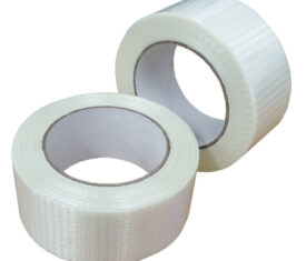 75mm x 50m Reinforced Crossweave Adhesive Super Heavy Duty Packing Tape