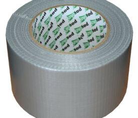75mm x 50m Silver Gaffer Tape Waterproof Duct Tape Qty 1 Roll