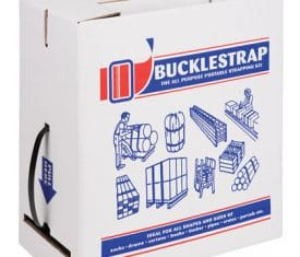 BSK600 Plastic Buckle Seal Hand Strapping Kit 600m Strapping 250 Buckles