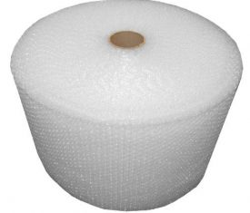 Plain Clear Bubble Wrap Roll 500mm x 100m Small Bubbles Strong