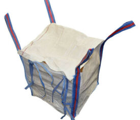 Small 500mm Woven Bulk Bags Building Gardening Waste Sacks with Closing Flap